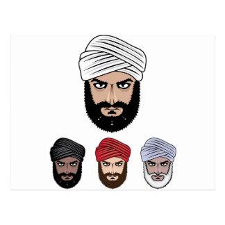 アラビアのイスラム教のベクトル ポストカード