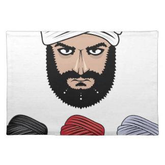 アラビアのイスラム教のベクトル ランチョンマット