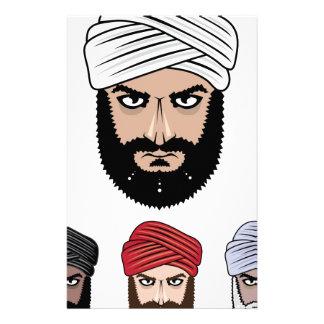 アラビアのイスラム教のベクトル 便箋