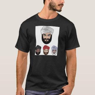 アラビアのイスラム教のベクトル Tシャツ