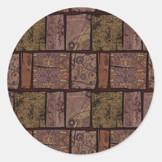 アラビアのカーペット ラウンドシール