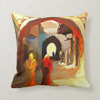 アラビアのクラシックな絵画の枕 クッション