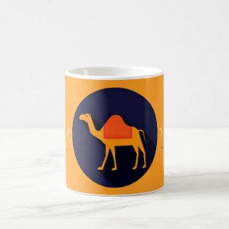 アラビアのサハラ砂漠のラクダのマグ コーヒーマグカップ