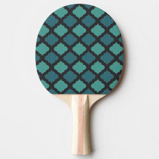 アラビアのスタイルのモザイク模様 卓球ラケット