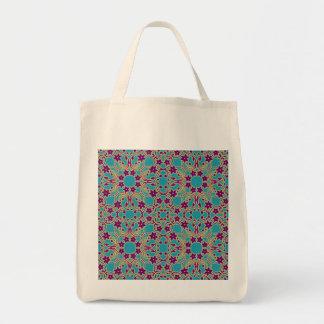 アラビアのモロッコパターン トートバッグ