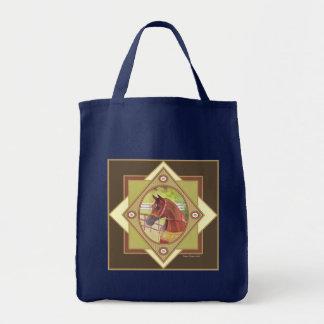 アラビアの天然乗馬のトートバック トートバッグ