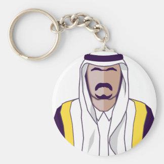アラビアの王子のベクトル キーホルダー