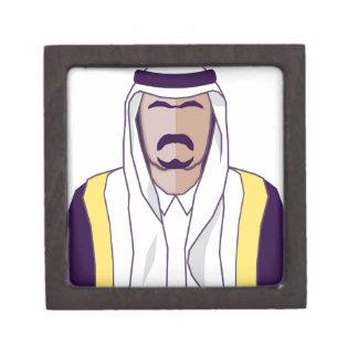 アラビアの王子のベクトル ギフトボックス