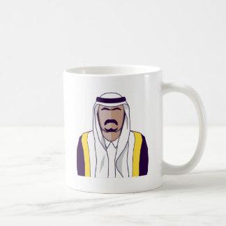 アラビアの王子のベクトル コーヒーマグカップ