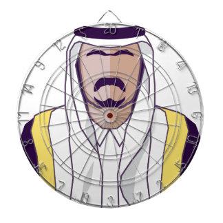 アラビアの王子のベクトル ダーツボード