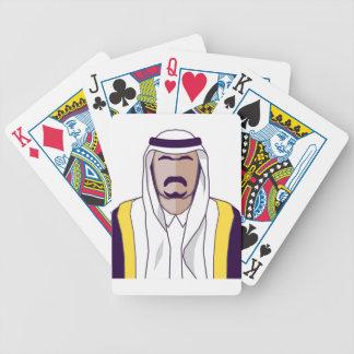 アラビアの王子のベクトル バイスクルトランプ