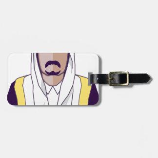 アラビアの王子のベクトル ラゲッジタグ