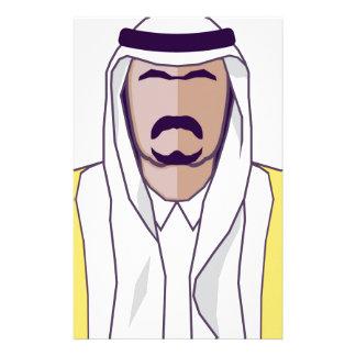 アラビアの王子のベクトル 便箋