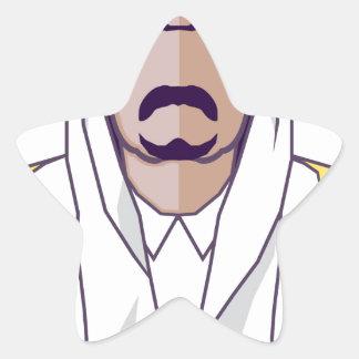 アラビアの王子のベクトル 星シール