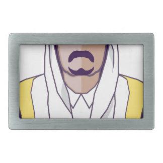 アラビアの王子のベクトル 長方形ベルトバックル