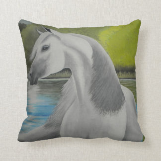 アラビアの種馬の枕 クッション