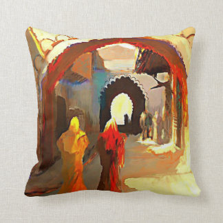 アラビアの絵画のクラシックの枕 クッション