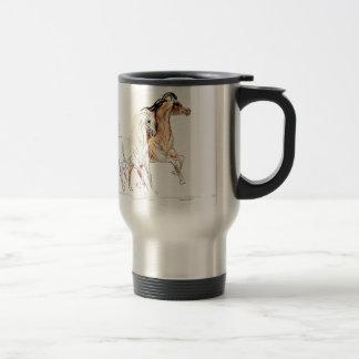 アラビアの馬のタンブラー トラベルマグ