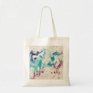 アラビアの馬のデジタル水彩画の絵画 トートバッグ