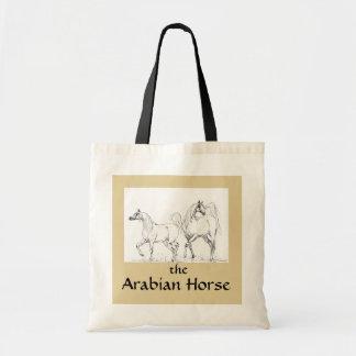 アラビアの馬のトートバック-アラビアの馬 トートバッグ