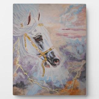 アラビアの馬のプラク フォトプラーク