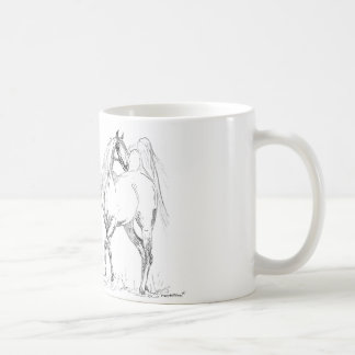 アラビアの馬のマグ-アラビアの馬 コーヒーマグカップ