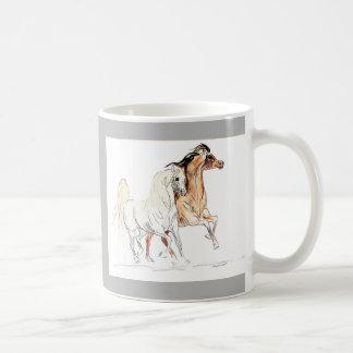 アラビアの馬のマグ-馬好きのギフト コーヒーマグカップ