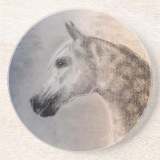 アラビアの馬の砂岩コースター コースター