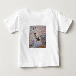 アラビアの馬のTシャツ ベビーTシャツ