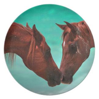 アラビアの馬愛プレート プレート