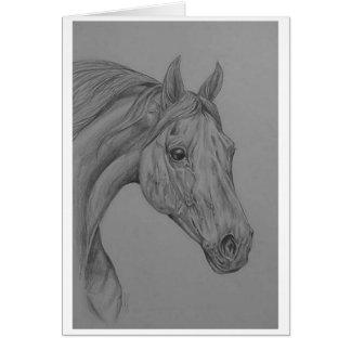 アラビアの馬 カード