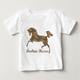 アラビアの馬 ベビーTシャツ