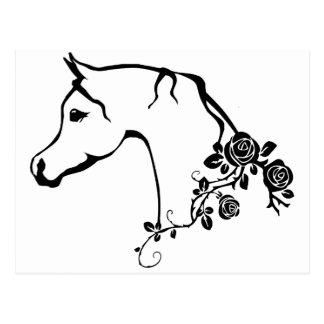 アラビアの馬 ポストカード