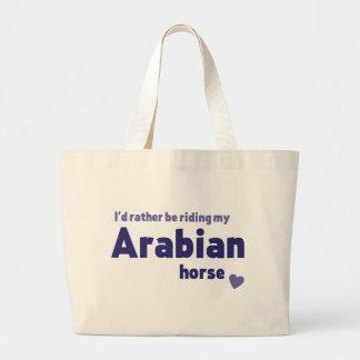 アラビアの馬 ラージトートバッグ