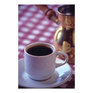 アラビアコーヒーのコップ。 シリア。 中間 フォトプリント