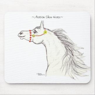 アラビアショーの馬の衣裳のマウスパッド マウスパッド