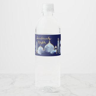 アラビアンナイトの水差しのラベル ペットボトルラベル
