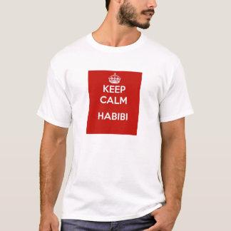 アラビア人の中東habibiのTシャツ Tシャツ
