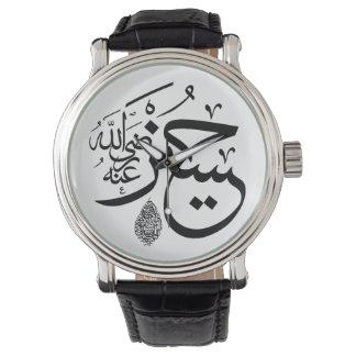 アラビア書道 腕時計