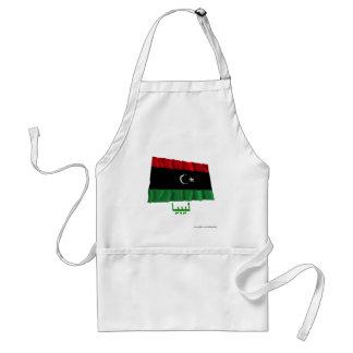 アラビア語の名前のリビアの振る旗 スタンダードエプロン