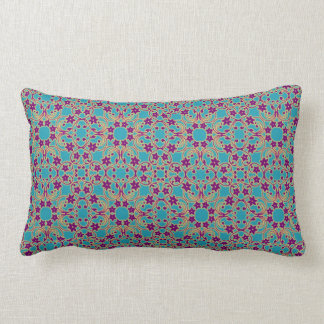 アラビア~モロッコパターン製材枕 ランバークッション
