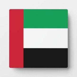 アラブ首長国連邦の旗 フォトプラーク
