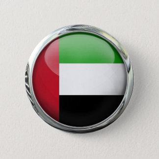 アラブ首長国連邦はガラス玉に印を付けます 5.7CM 丸型バッジ