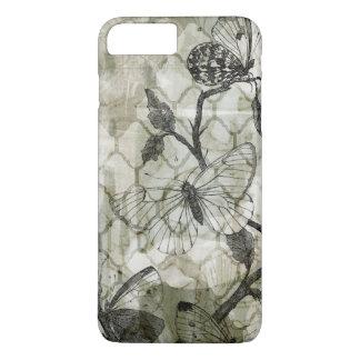 アラベスクの蝶II iPhone 8 PLUS/7 PLUSケース
