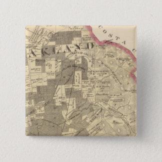アラメダCo 1 5.1cm 正方形バッジ