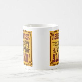 アラモのコーヒー・マグを覚えて下さい コーヒーマグカップ