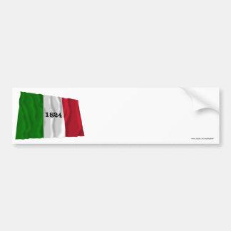 アラモの旗 バンパーステッカー
