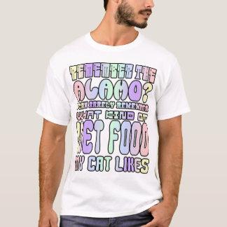 アラモを覚えて下さいか。 Tシャツ