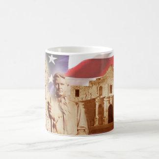 アラモ、サン・アントニオ、テキサス州の英雄 コーヒーマグカップ