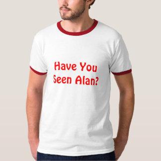 アランに会いましたか。 Tシャツ